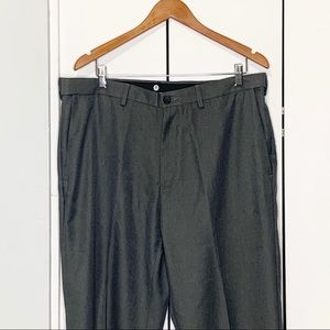 Haggar Suit Gray Pants 36x30
